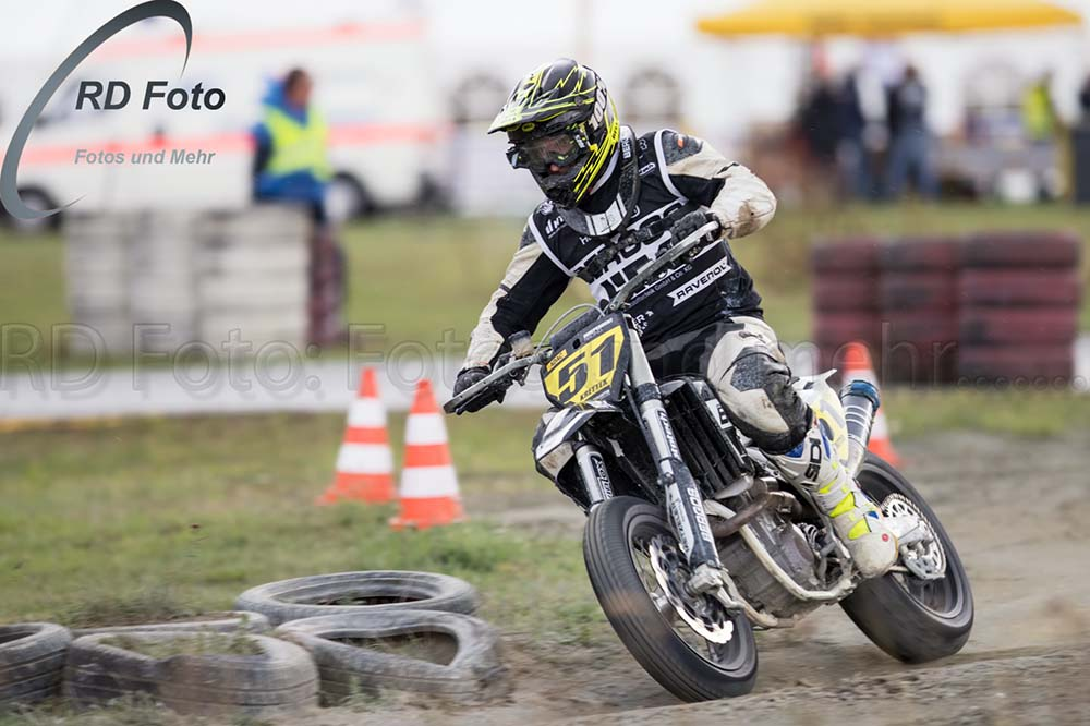 Tony Krettek sagt Good Bye Supermoto IDM DM Finale 2019 Harsewinkel