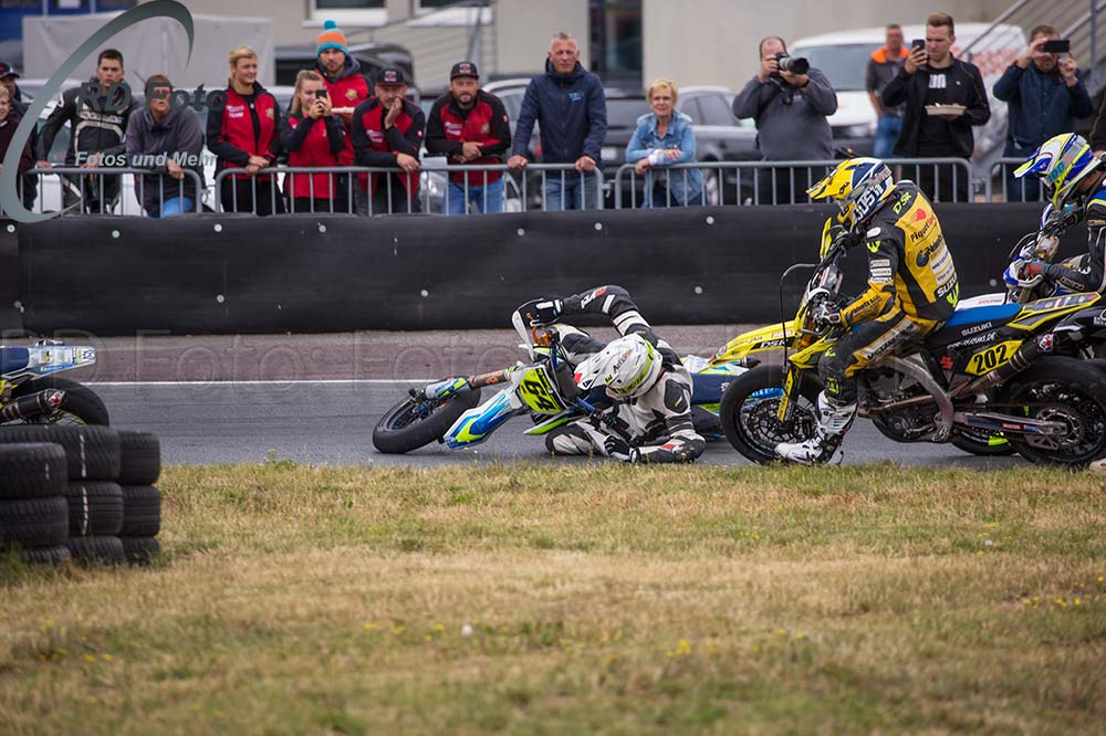 Jan Deitenbach Supermoto IDM DM Oschersleben 2019