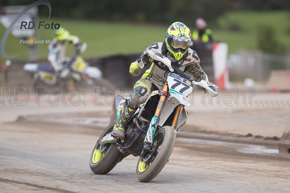 Andy Buschberger Supermoto IDM DM Schleiz 2020